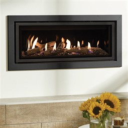 Gazco Studio Profil MK2 Wall Mounted Gas Fire (Glass Fronted)