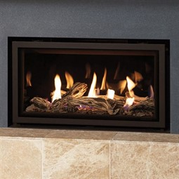 Gazco Studio Edge Mk2 Wall Mounted Gas Fire Glass Fronted