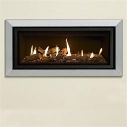 Gazco Studio Bauhaus Mk2 Wall Mounted Gas Fire Balanced