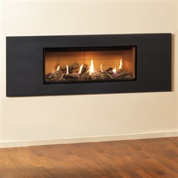 Gazco Studio Steel 2 Mk2 Wall Mounted Gas Fire (Balanced Flue)