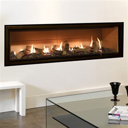 Gazco Studio Edge Mk2 Wall Mounted Gas Fire (Balanced Flue)