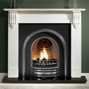 Gallery Richmond Limestone or Cararra Marble Fireplace