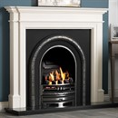 Gallery Bartello Limestone Fireplace
