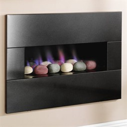 Crystal Fires Jewel Hole-in-the-Wall Gas Fireplace