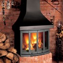 Dovre 2400 Multi-Fuel Fireplace Stove