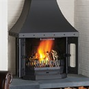 Dovre 2700 Multi-Fuel Fireplace Stove