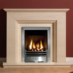 Gallery Cranbourne Limestone Fireplace Suite