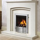 Be Modern Rossano Marble Fireplace Suite