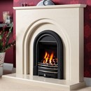 Be Modern Clarissa Marble Fireplace Suite