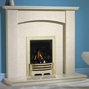 Be Modern Payton Marble Fireplace Suite