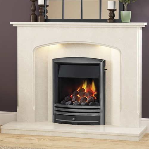 Be Modern Octavia Marble Fireplace Suite