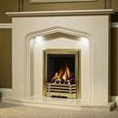 Be Modern Portia Marble Fireplace Suite