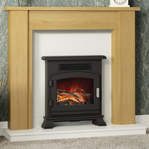 Be Modern Hainsworth Wooden Fireplace Suite