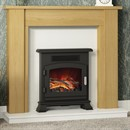 Be Modern Tudor Wooden Fireplace Suite