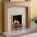 Be Modern Logan Wooden Fireplace Suite