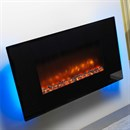 Be Modern Orlando Wall Mounted Electric Fire - Flat Glass
