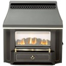 Valor Black Beauty Slimline LFE Gas Fire