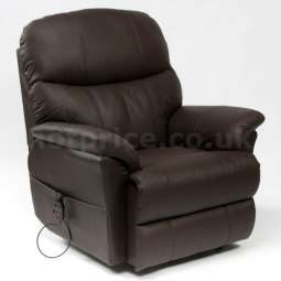 Restwell Lars Leather Electric Recliner Chair