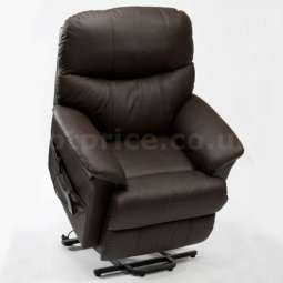 Restwell Lars Leather Electric Rise & Recliner Chair