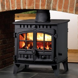 Hunter Herald 6 Double Sided Wood Burning / Multi-Fuel Stove