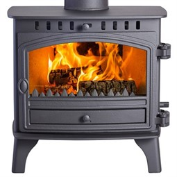 Hunter Herald 8 Wood Burning / Multi-Fuel Central Heating Boiler Stove