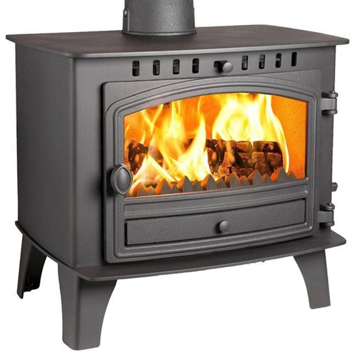 Hunter Herald 14 Wood Burning / Multi-Fuel Central Heating Boiler Stove