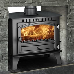 Hunter Herald 14 Double Sided Multi-Fuel Stove - Hotprice.co.uk