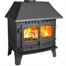 Hunter Herald 14 Multi-Fuel Stove (with Clip-In Boiler)