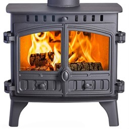 Hunter Herald 8 Wood Burning / Multi-Fuel Stove (with Clip-In Boiler)