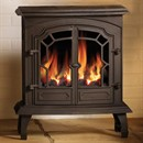 Broseley Lincoln Cast Iron Balanced Flue Gas Stove