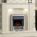 Be Modern Clara Marble Fireplace Suite