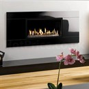 Gazco Studio Glass Wall Mounted Gas Fire (Open Fronted)