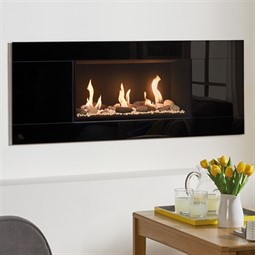 Gazco Studio Glass Mk2 Wall Mounted Gas Fire (Balanced Flue)