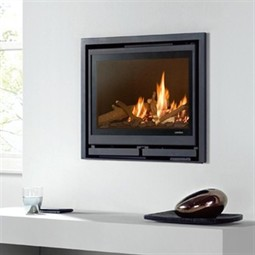 Wanders Square 60 Insert Wood Burning Fireplace Stove - Hotprice.co.uk