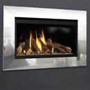 Flavel Rocco HE Black Gas Fire (Conventional Flue)