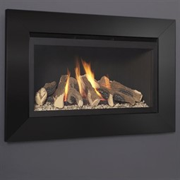 Flavel Rocco Black Hole-in-the-Wall Gas Fire (Balanced Flue)