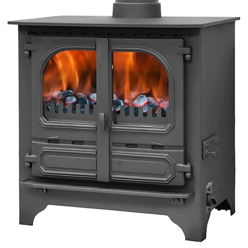 Dunsley Highlander 8 Multi-Fuel Central Heating Boiler Stove