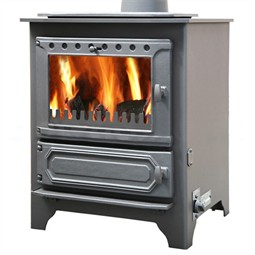 Dunsley Yorkshire Multi-Fuel Central Heating Boiler Stove