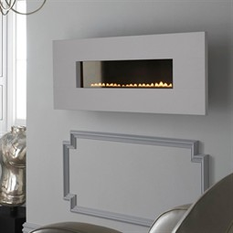 Eko Fires 5090 Wall Mounted Flueless Gas Fire - Limestone