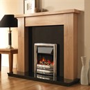 Pureglow Stanford Fireplace Suite with Premium Electric Fire
