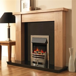 Pureglow Stanford Fireplace Suite with Electric Fire