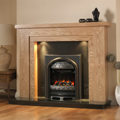 Pureglow Hanley Fireplace Suite with Premium Electric Fire