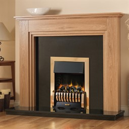 Pureglow Whitton Fireplace Suite with Media Electric Fire