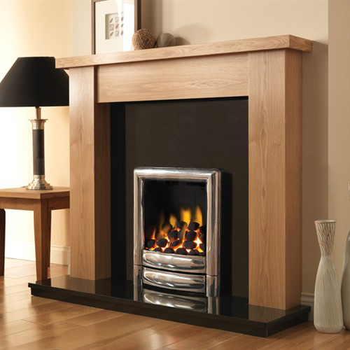 Pureglow Stanford Fireplace Suite with Premium Gas Fire