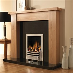 Pureglow Stanford Fireplace Suite with Gas Fire