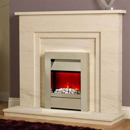 Be Modern Alicia Limestone Fireplace Suite