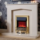 Be Modern Melrose Marble Fireplace Suite