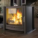 Firebelly Stoves FB3 Double Sided Wood Burning Stove