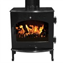 Carron 4.7kW Multi-Fuel / Wood Burning Stove - Black Enamel