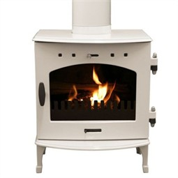 Carron 4.7kW Multi-Fuel / Wood Burning Stove - Cream Enamel